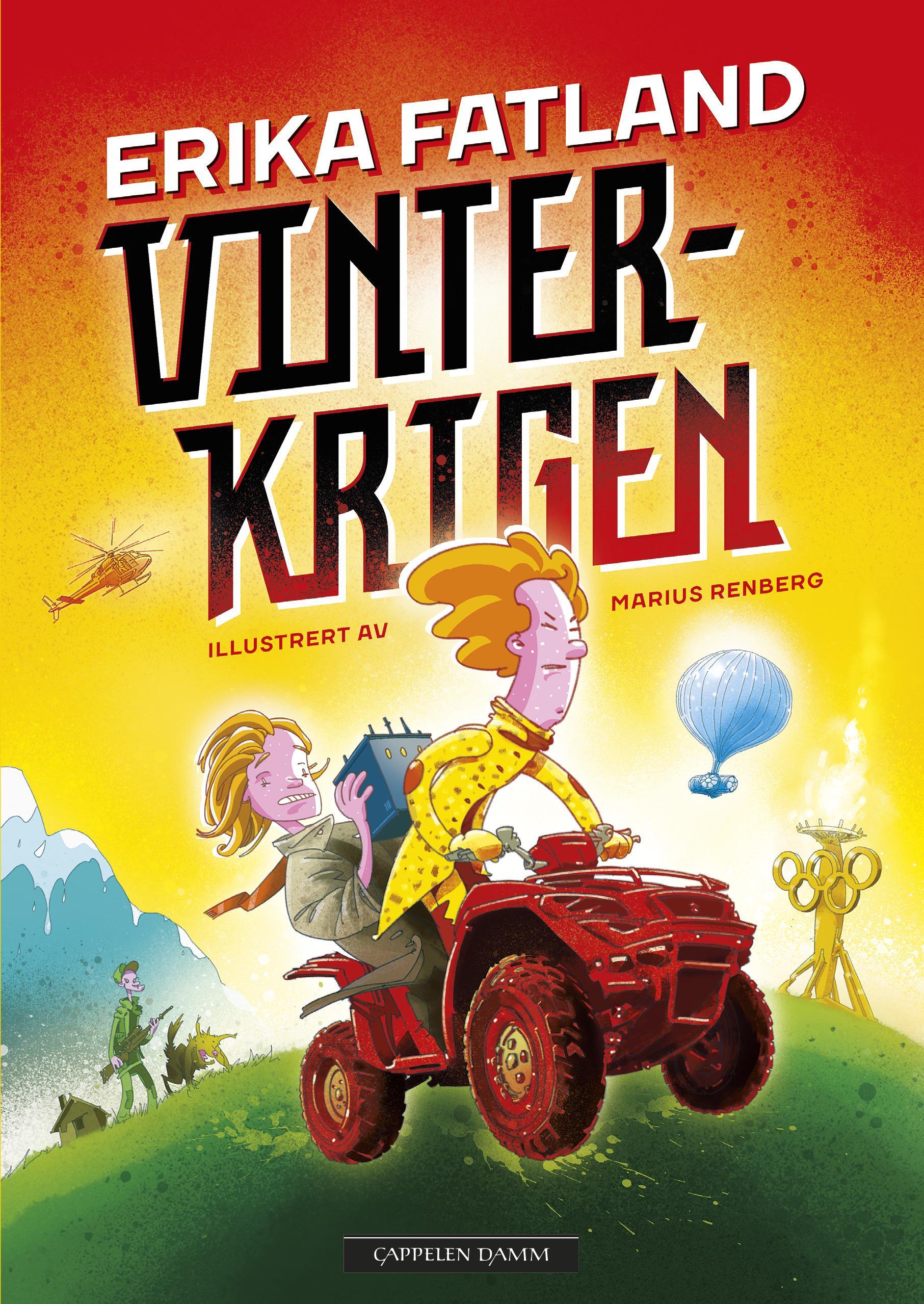 """""""Vinterkrigen"""" av Erika Fatland"""