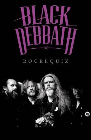 """""""Black debbath - rockequiz"""" av Ole Petter Andreassen"""