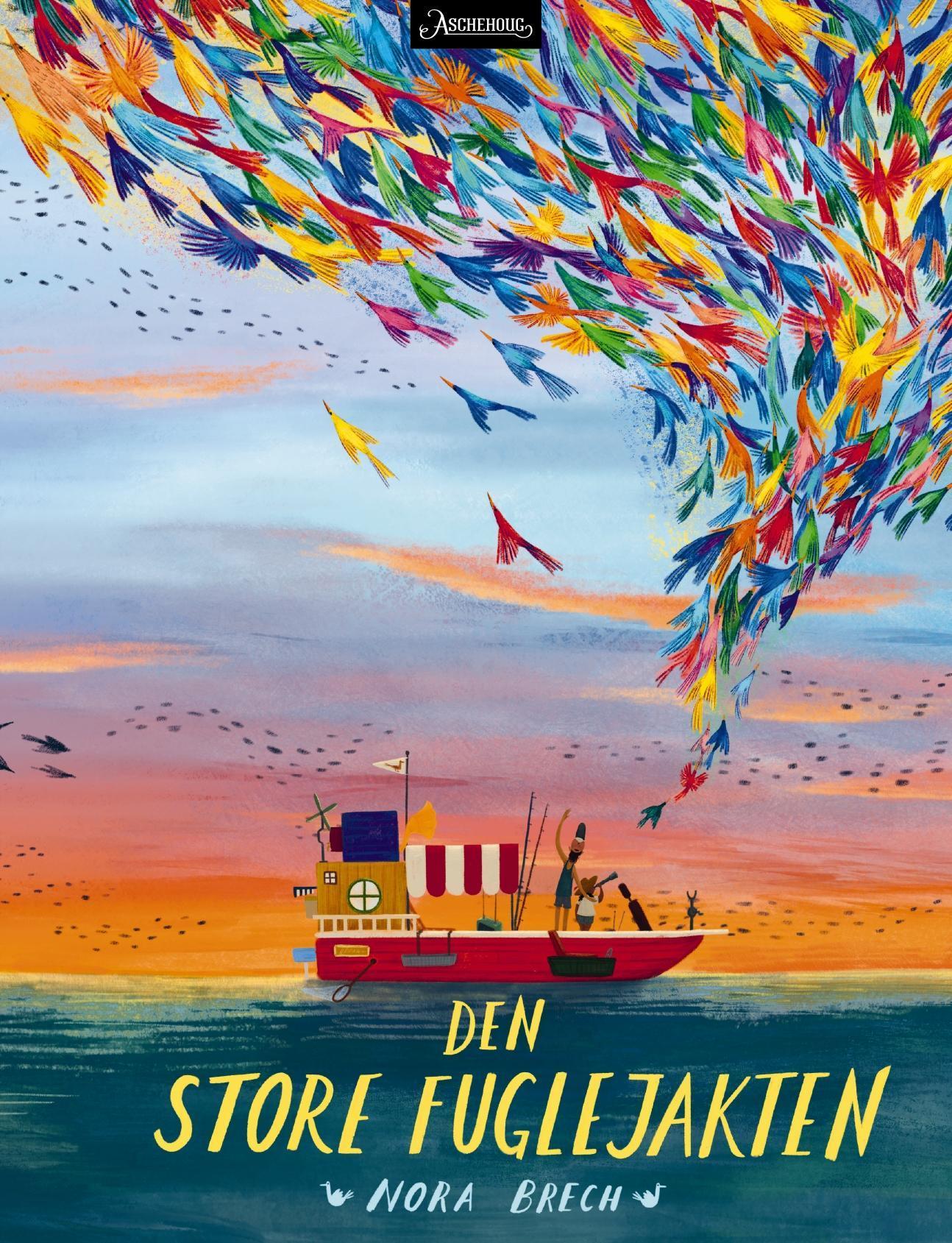 """""""Den store fuglejakten"""" av Nora Brech"""