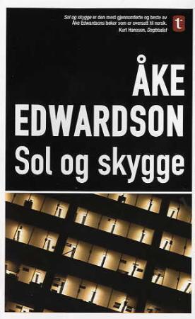 """""""Sol og skygge"""" av Åke Edwardson"""