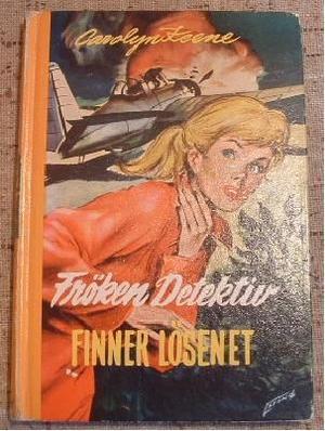 """""""Frøken detektiv finner løsenet"""" av Carolyn Keene"""