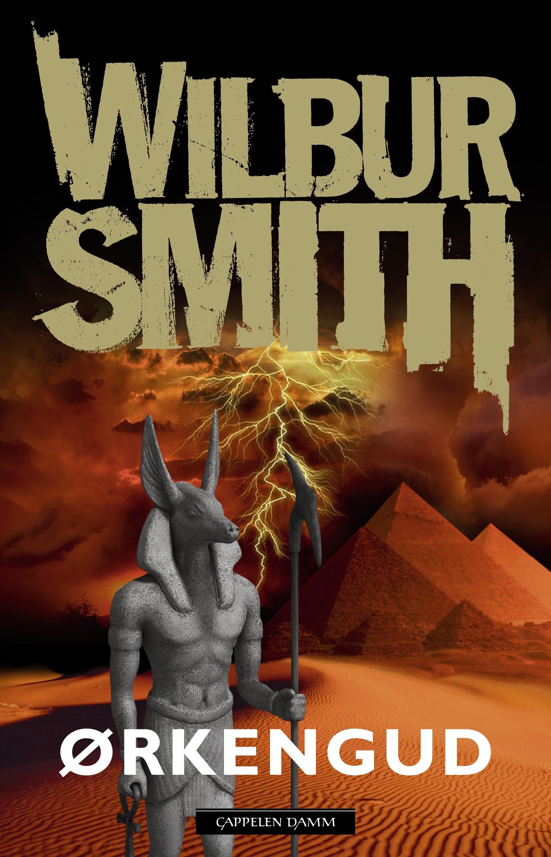 """""""Ørkengud"""" av Wilbur Smith"""