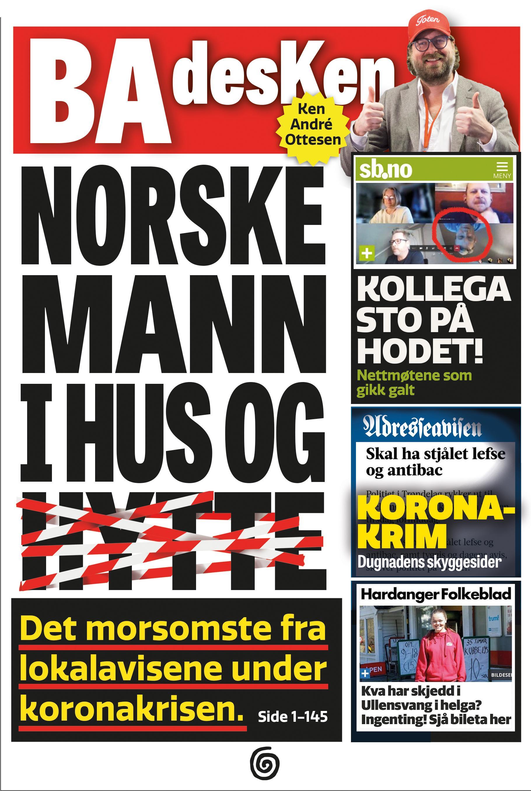 """""""Norske mann i hus og hytte"""" av Ken André Ottesen"""