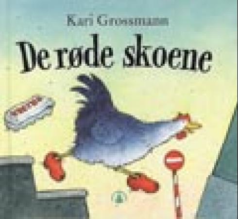 """""""De røde skoene"""" av Kari Grossmann"""