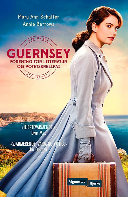 """""""Guernsey forening for litteratur og potetskrellpai"""" av Mary Ann Shaffer"""