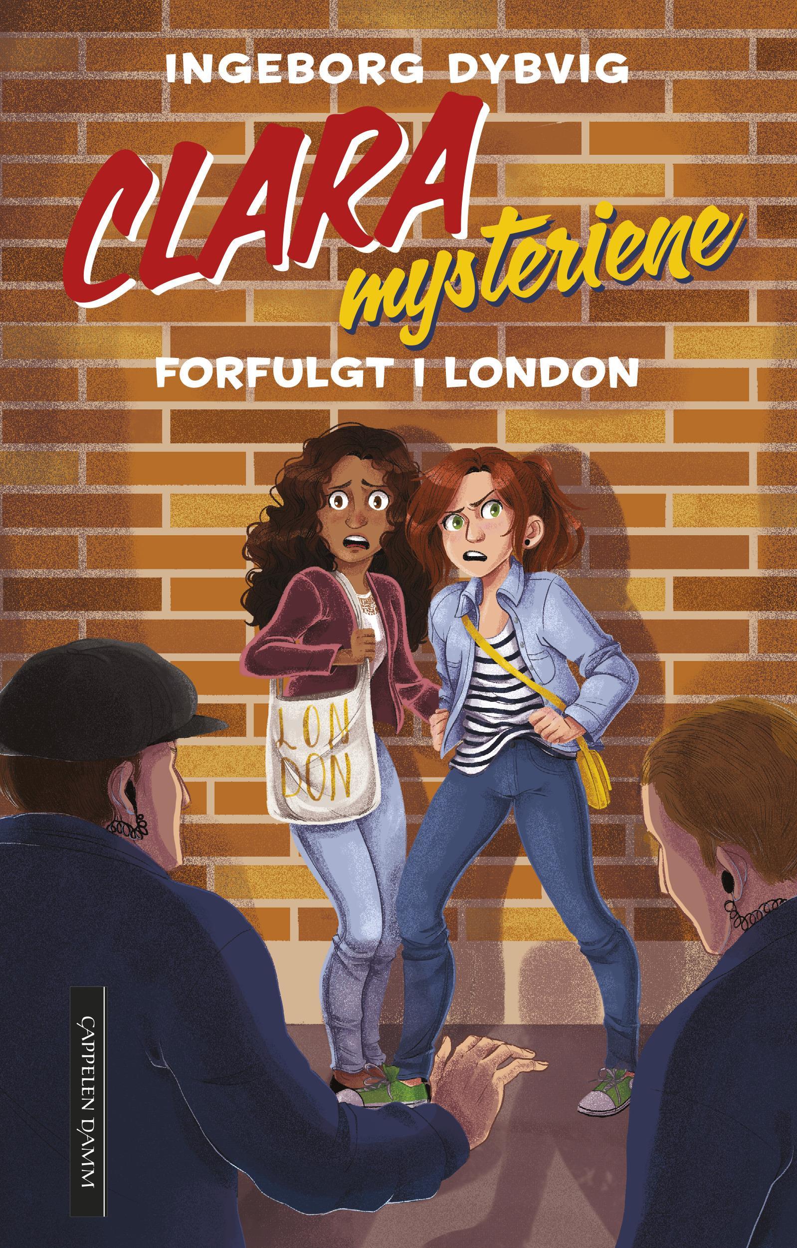 """Forfulgt i London - Clara 5"" av Ingeborg Dybvig"