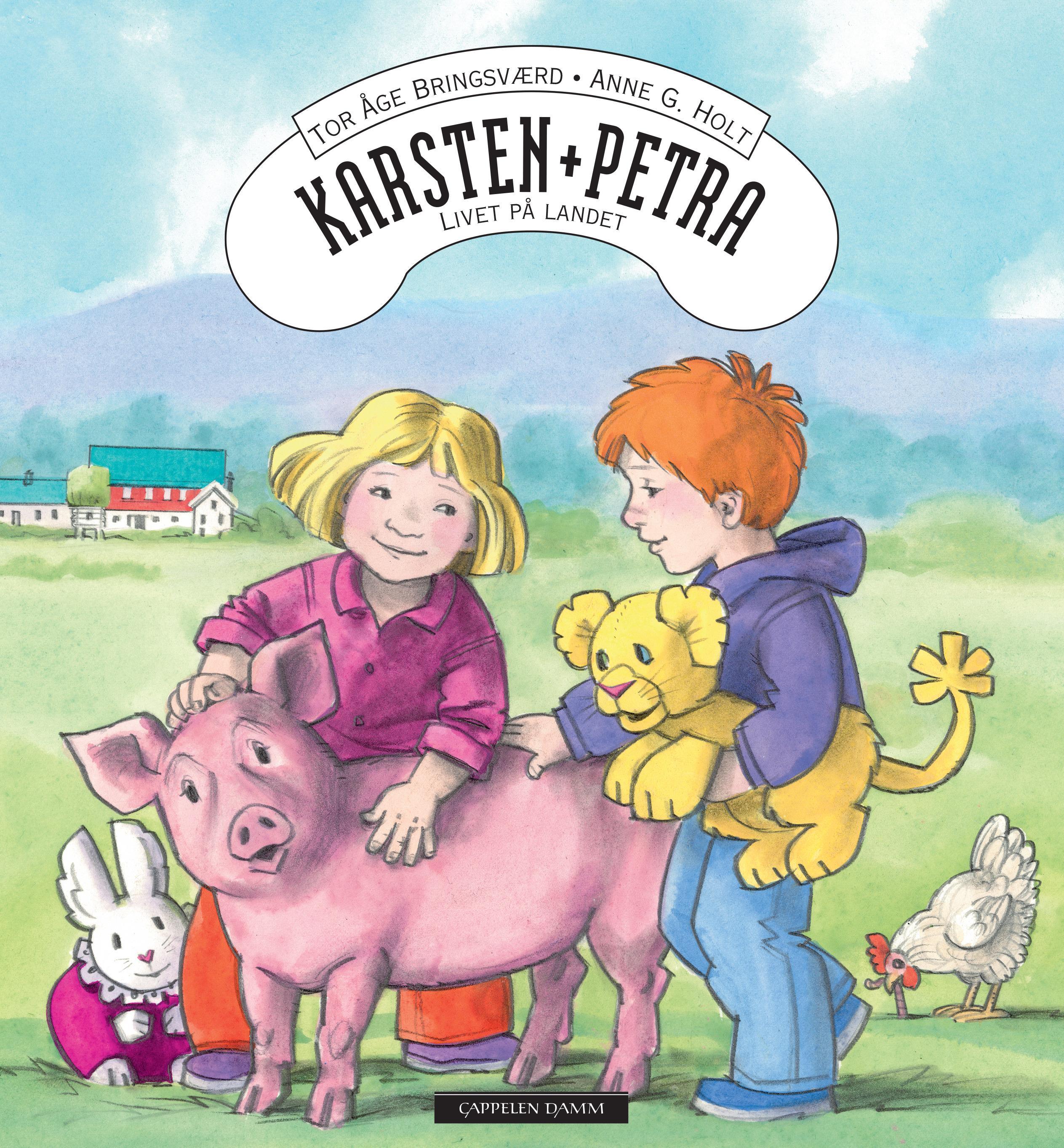 """""""Karsten og Petra - livet på landet"""" av Tor Åge Bringsværd"""