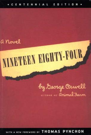 """Nineteen eighty-four - a novel"" av George Orwell"
