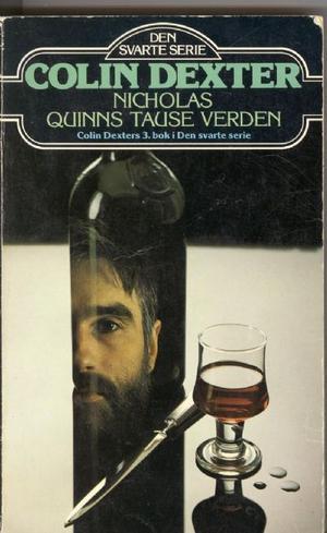 """""""Nicholas Quinns tause verden"""" av Colin Dexter"""