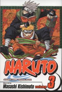 """""""Naruto volume 3"""" av Masashi Kishimoto"""