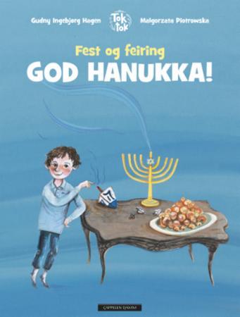 """""""God hanukka!"""" av Gudny Ingebjørg Hagen"""