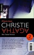 """""""Den umulige forbrytelse ; Det tause vitnet"""" av Agatha Christie"""