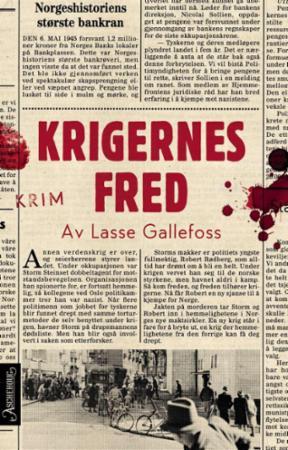 """""""Krigernes fred - krim"""" av Lasse Gallefoss"""