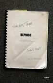 """""""Reprise filmmanuskript"""" av Eskil Vogt"""