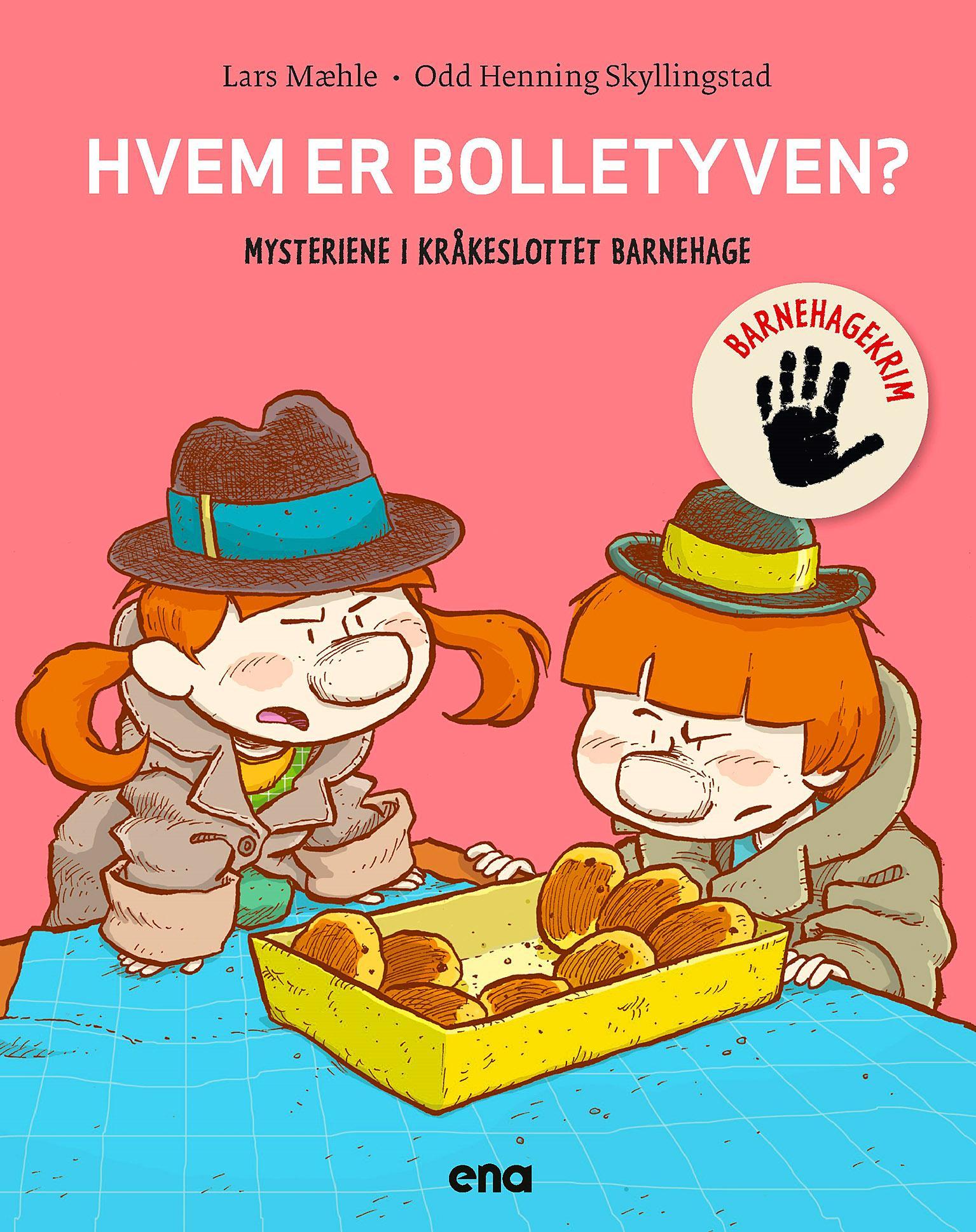 """""""Hvem er bolletyven?"""" av Lars Mæhle"""