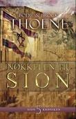 """""""Nøkkelen til Sion"""" av Bodie Thoene"""