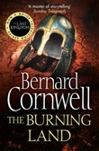 """The burning land"" av Bernard Cornwell"