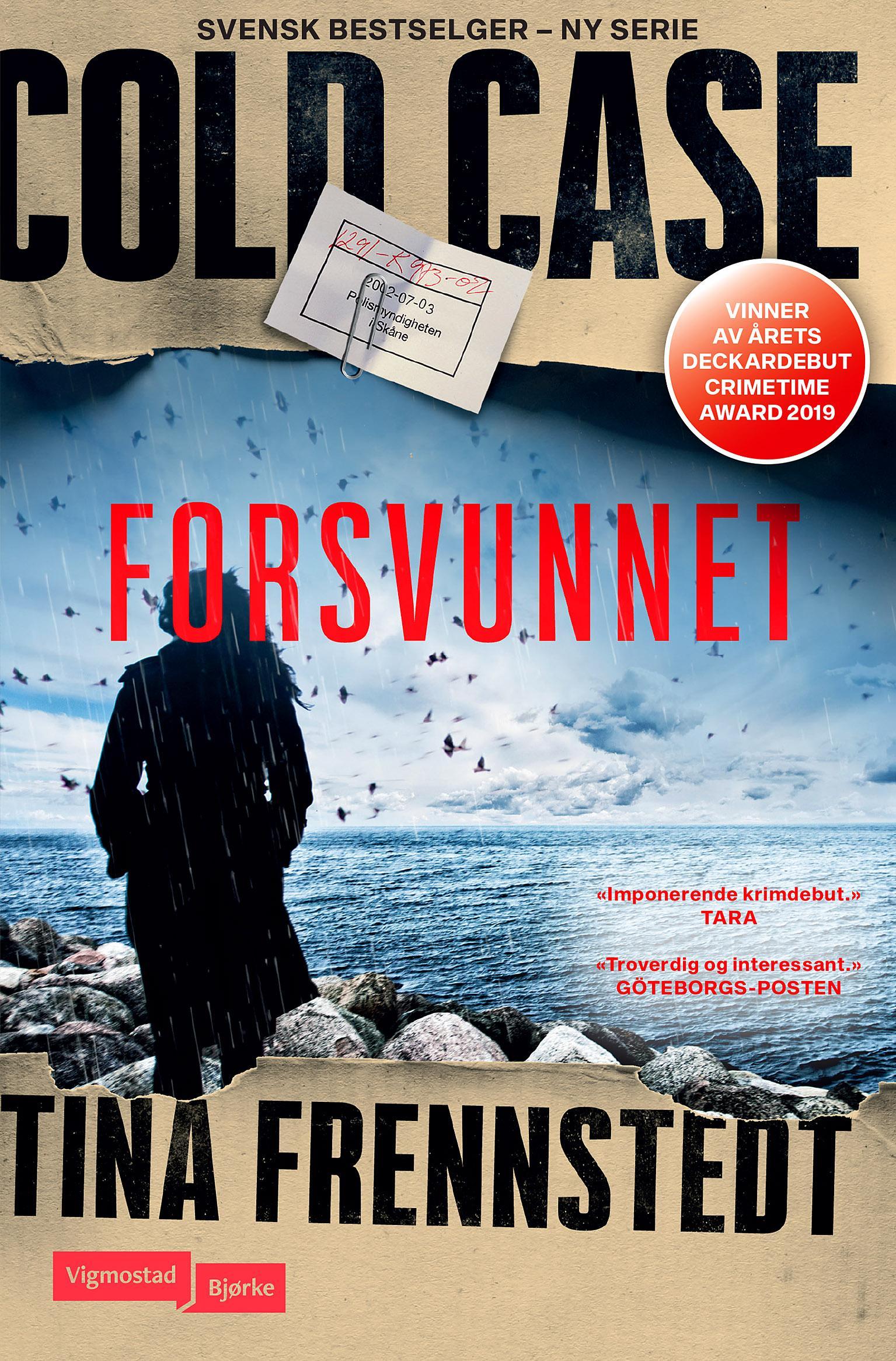 """""""Forsvunnet"""" av Tina Frennstedt"""