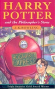 Omslagsbilde av Harry Potter and the philosopher's stone
