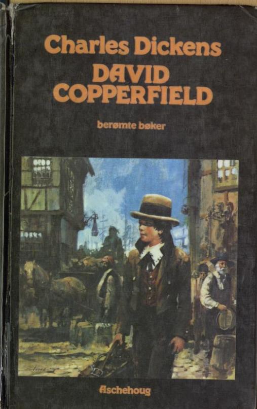 """""""David Copperfield - berømte bøker"""" av David Dickens"""