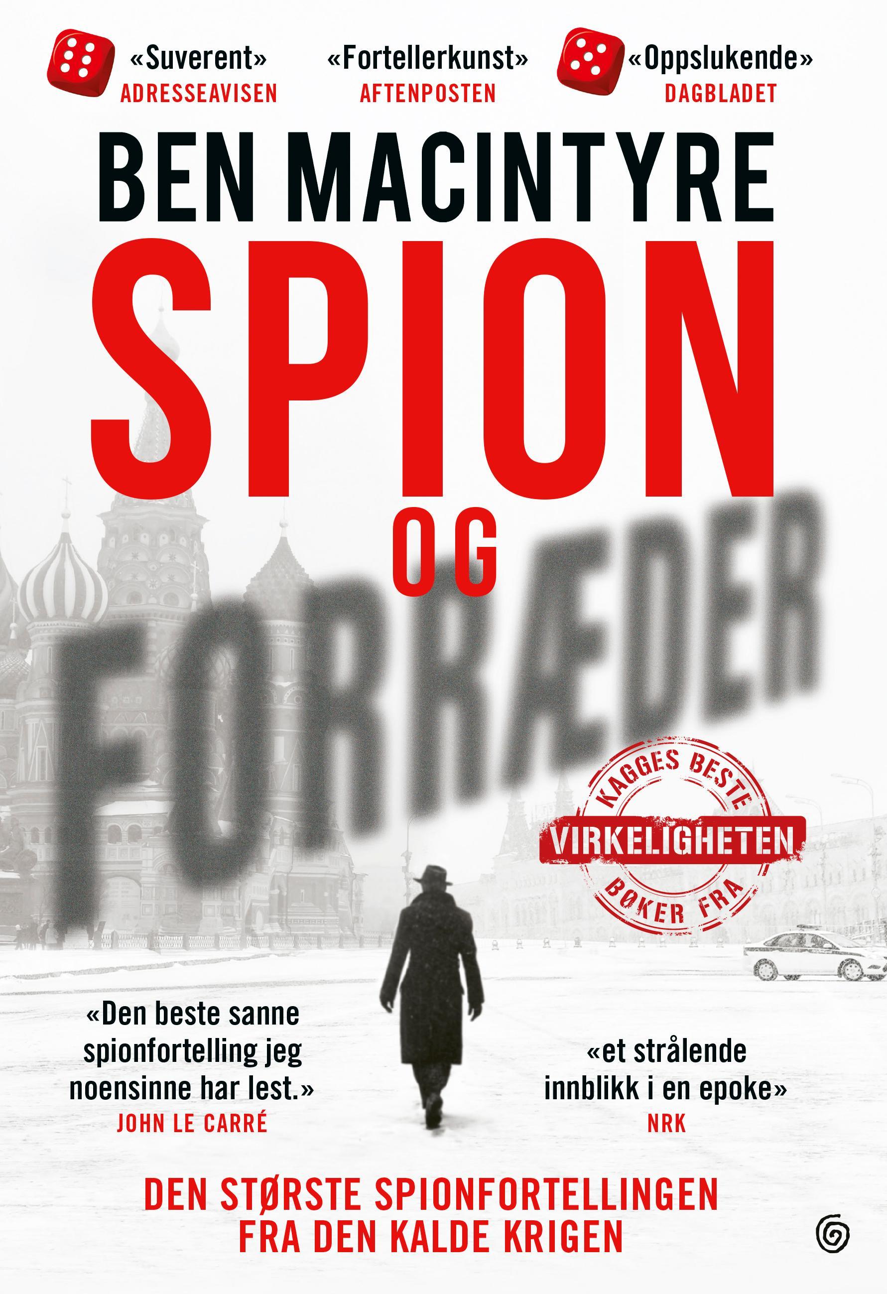 """""""Spion og forræder"""" av Ben Macintyre"""