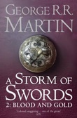 """A storm of swords - blood and gold"" av George R.R. Martin"