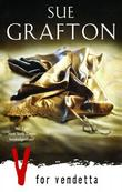 """V for vendetta"" av Sue Grafton"