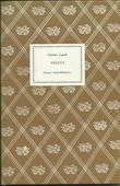"""Essays"" av Charles Lamb"